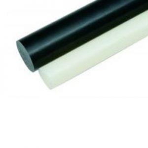 מוט דלרין (אצטל-קופולימר) שחור/לבן