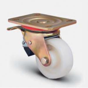"""גלגל אוקולון פלטה מסתובבת + מיסב +מעצור עד 750 ק""""ג"""
