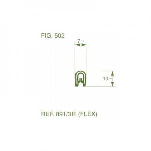פרופיל קדר PVC סטנדרטי נמוך