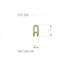פרופיל קדר PVC סטנדרטי גבוה