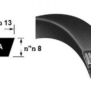 רצועת הנעה חלקה A חתך V