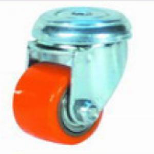 """גלגל גומי פוליאוריטן חור מתאם עד 120 ק""""ג"""