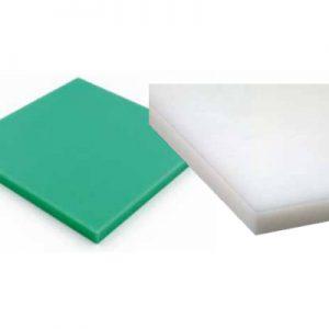 לוח פוליאתילן ירוק / לבן PE