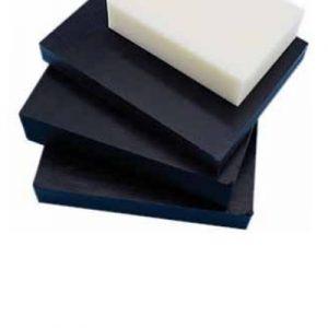 לוח דלרין (אצטל – קופולימר) שחור / לבן POM