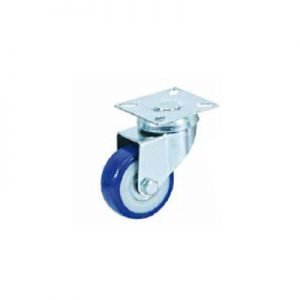 גלגל גומי PVC עם מיסב כפול
